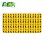 BiOBUDDi - Baseplate Yellow - Eco Friendly Block Set - 1 Plate